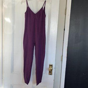 American Apparel Purple Catsuit